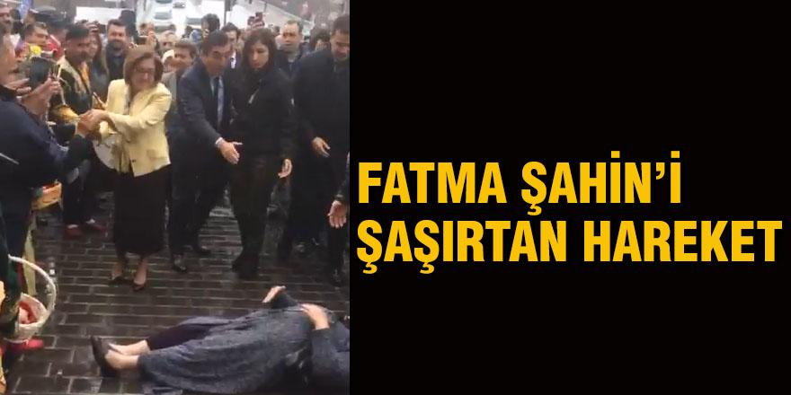 Fatma Şahin'i şaşırtan hareket