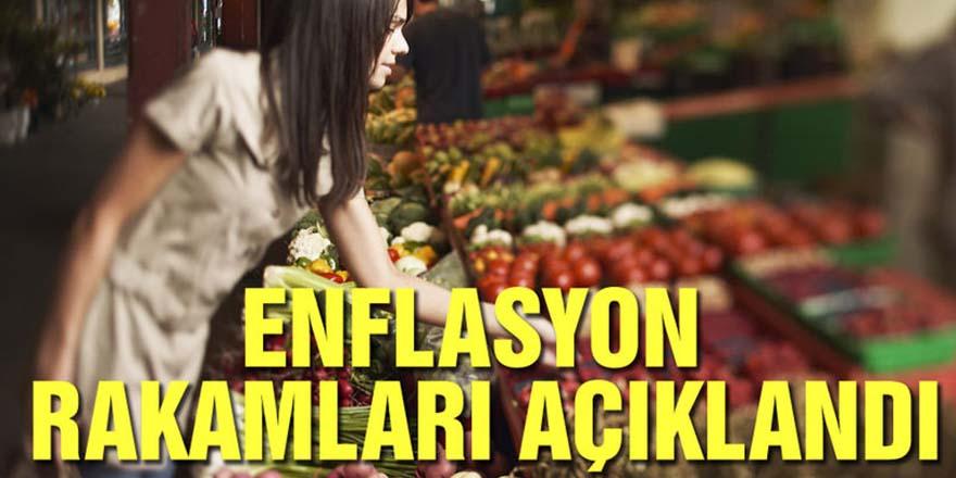 Mart ayı enflasyon rakamı açıklandı