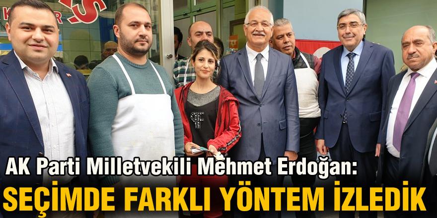 AK Parti Milletvekili Mehmet Erdoğan: