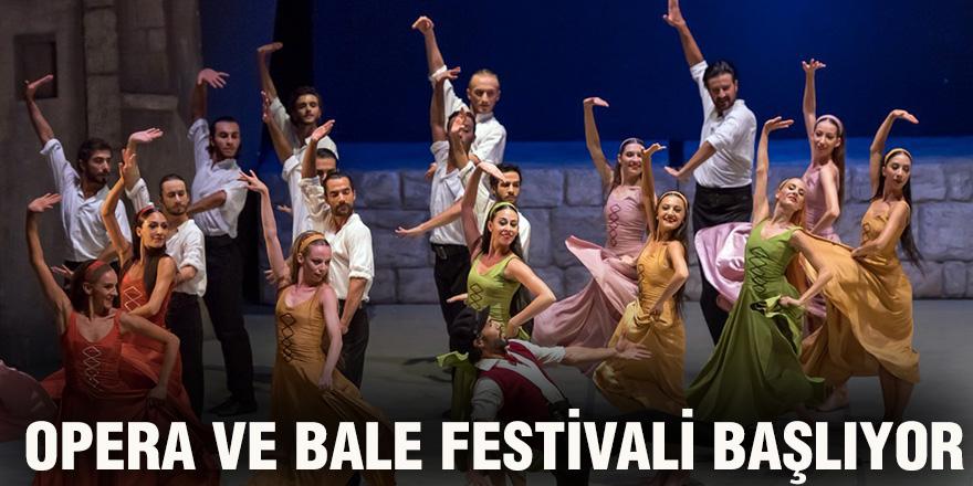 Opera ve Bale festivali başlıyor