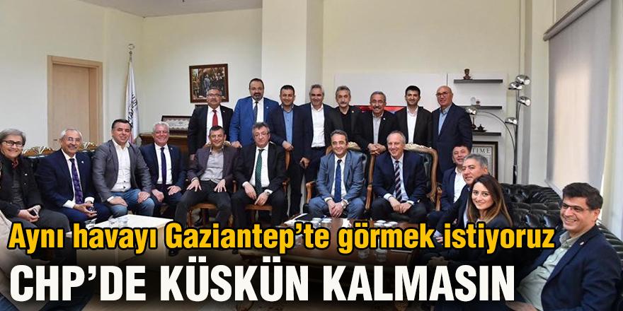 Aynı havayı Gaziantep'te görmek istiyoruz