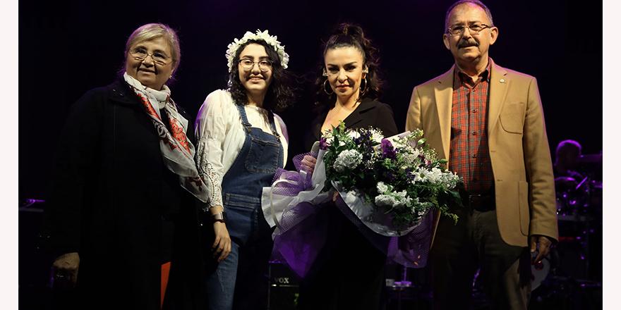 Sanko'da Fatma Turgut rüzgarı esti