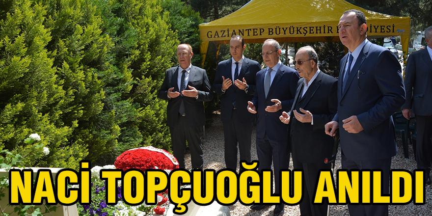 Naci Topçuoğlu anıldı