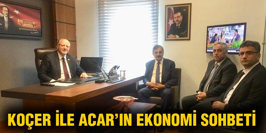 Koçer ile Acar'ın ekonomi sohbeti