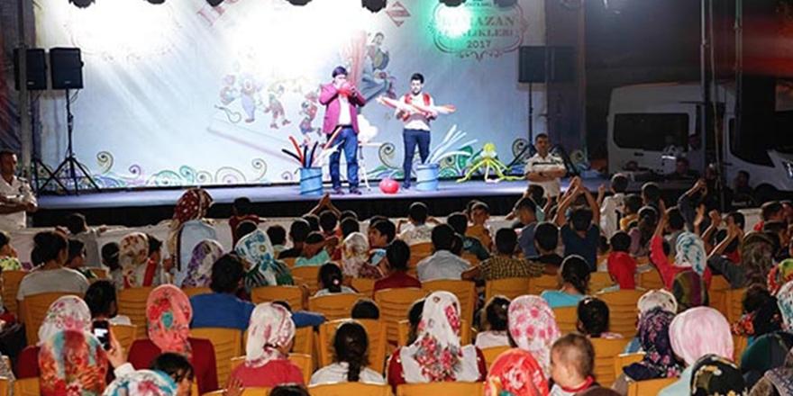 Nizip'te Ramazan etkinliği