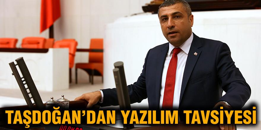 Taşdoğan'dan yazılım tavsiyesi