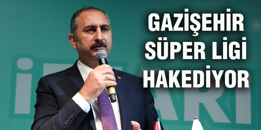 Gazişehir Gaziantep'e başarı dileği
