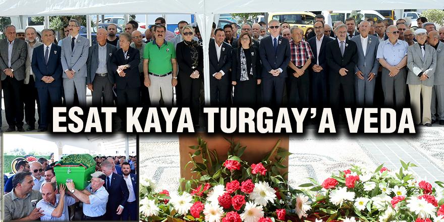 Esat Kaya Turgay'a veda