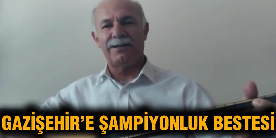Gazişehir Gaziantep'e şampiyonluk bestesi
