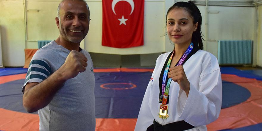 Zehra'nın hedefi Dünya şampiyonluğu