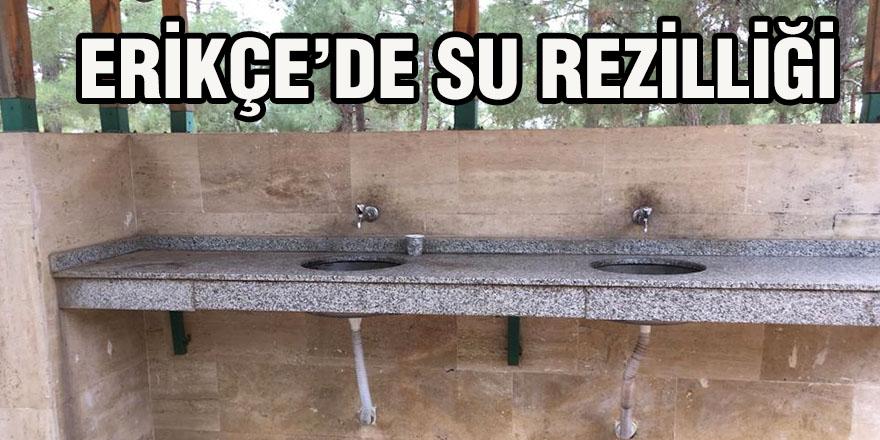 Erikçe'de su rezilliği