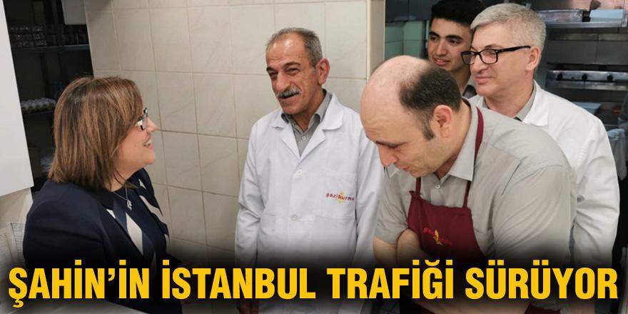 Şahin'in İstanbul trafiği sürüyor