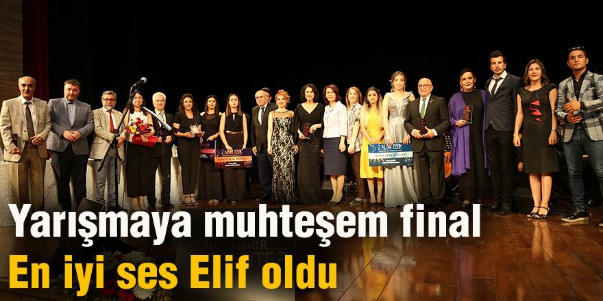 Yarışmaya muhteşem final
