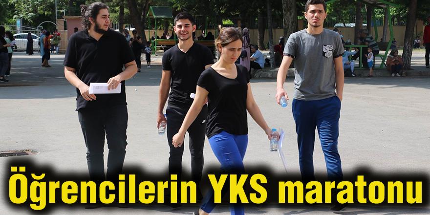 Öğrencilerin YKS maratonu