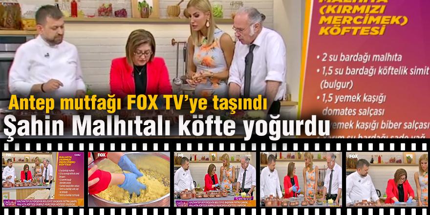 Antep mutfağı FOX TV'ye taşındı