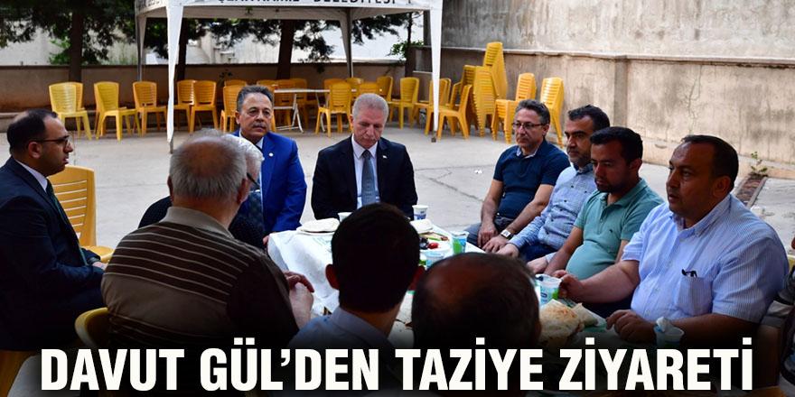 Davut Gül'den taziye ziyareti