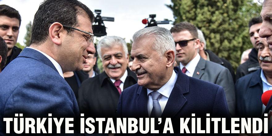 Türkiye İstanbul'a kilitlendi