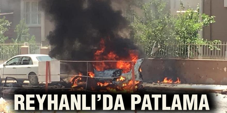 REYHANLI'DA PATLAMA