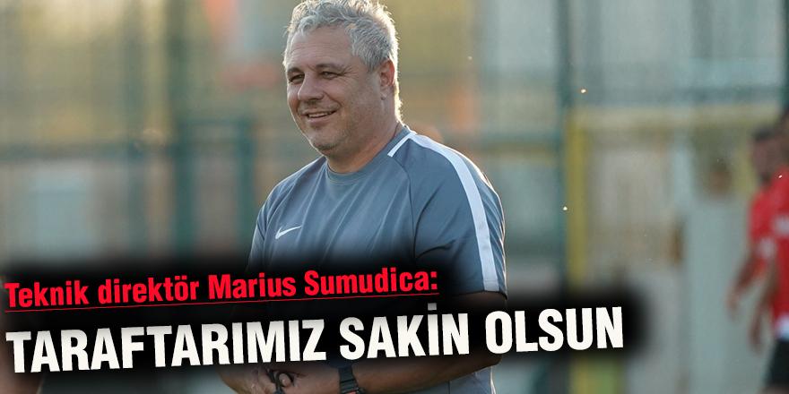 Teknik direktör Marius Sumudica: