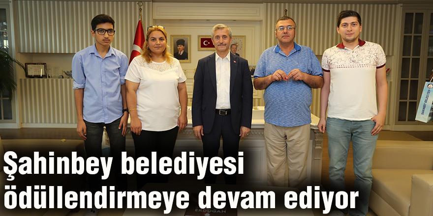 Şahinbey belediyesi ödüllendirmeye devam ediyor