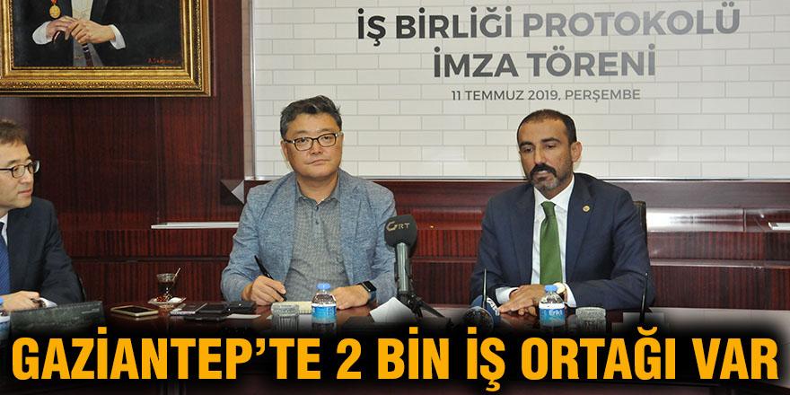 Gaziantep'te 2 bin iş ortağı var