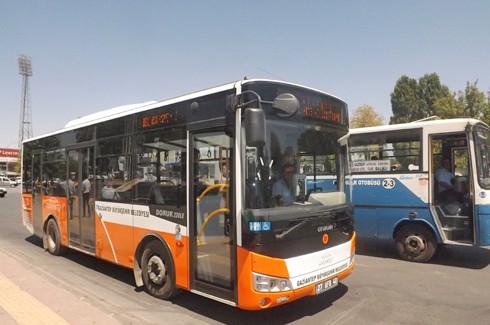Havaalanına belediye otobüsü