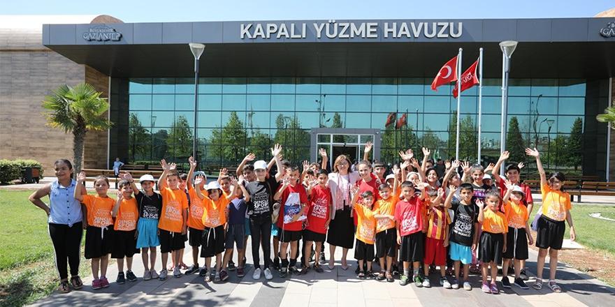 Gaziantep'te spor tesisi atağı