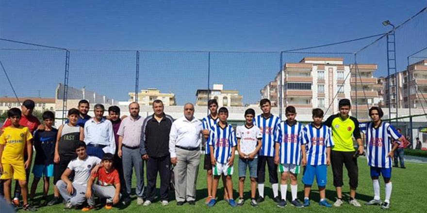Nizip'te camiler arası futbol turnuvası başladı