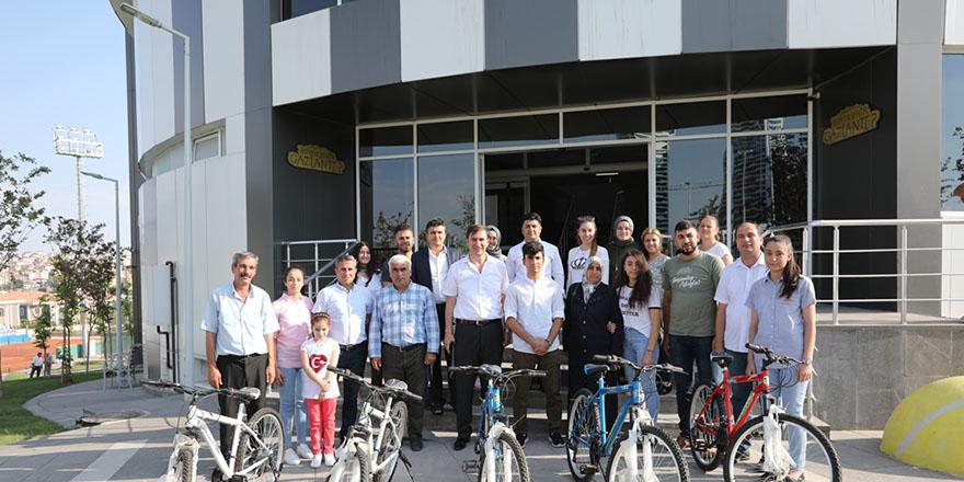 Sosyal medya paylaşımlarına bisiklet ödülü
