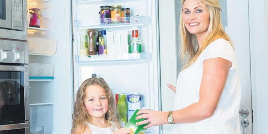 Buzdolabı kapağında saklanan şeyler daha çabuk bozulur