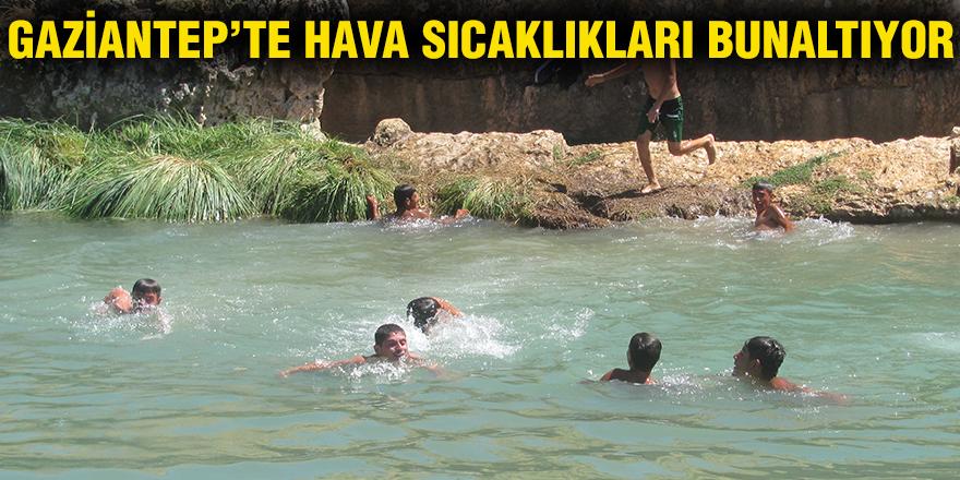 Gaziantep'te hava sıcaklıkları bunaltıyor