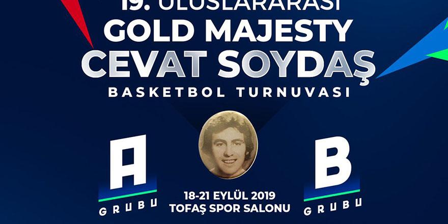 Cevat Soydaş turnuvasına katılıyorlar