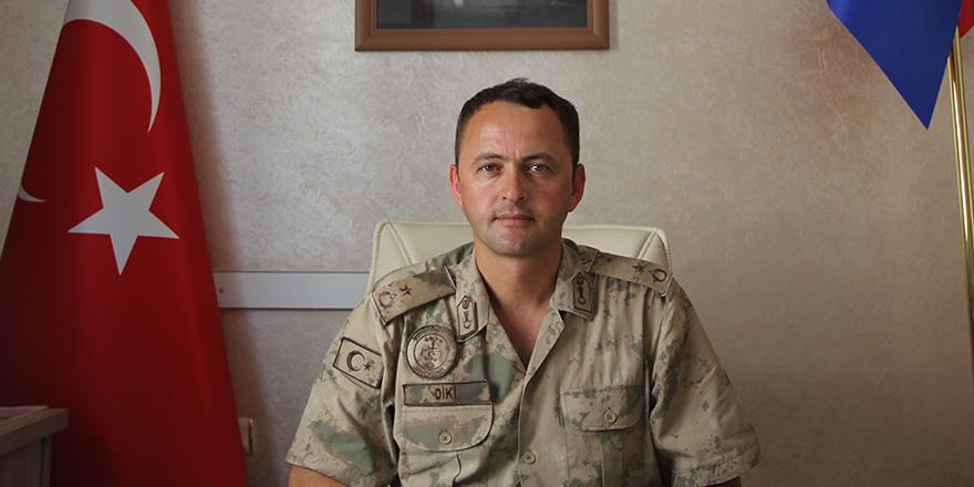 Nizip Jandarma Komutanı göreve başladı