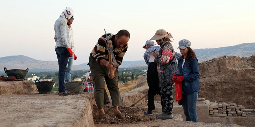Oylum Höyük'te kazılar yeniden başladı