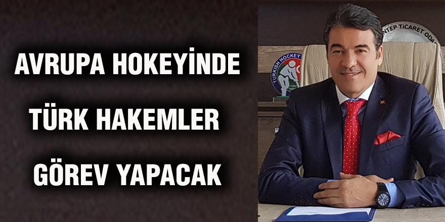 Avrupa hokeyinde Türk hakemler görev yapacak