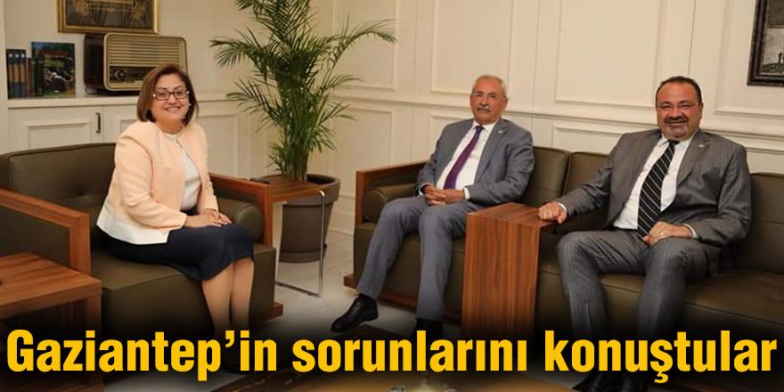 Gaziantep'in sorunlarını konuştular