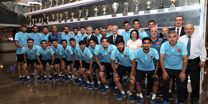 Türkiye, amatör futbolda Avrupa'da 1 numaraya yükseldi