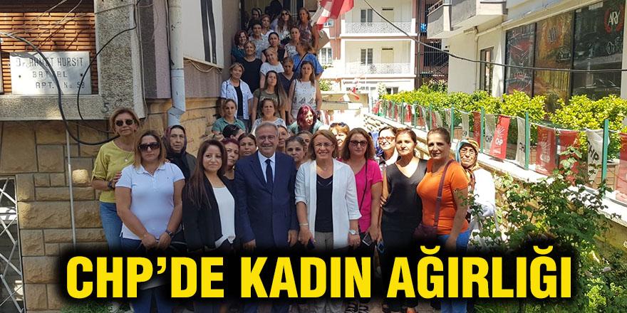 CHP'de kadın ağırlığı