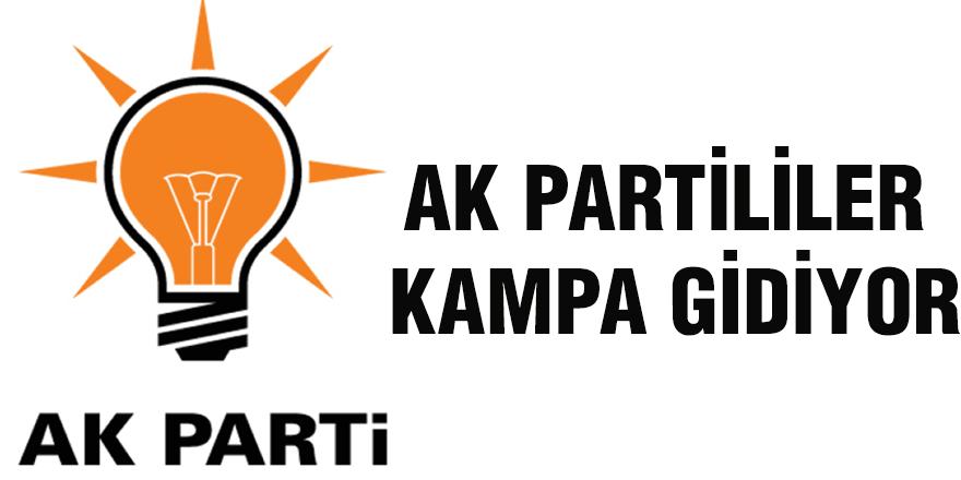 AK Partililer kampa gidiyor