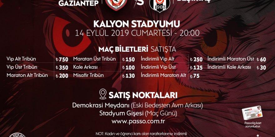 Beşiktaş maçının biletleri satışta