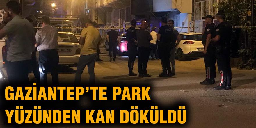 Gaziantep'te Park yüzünden kan döküldü