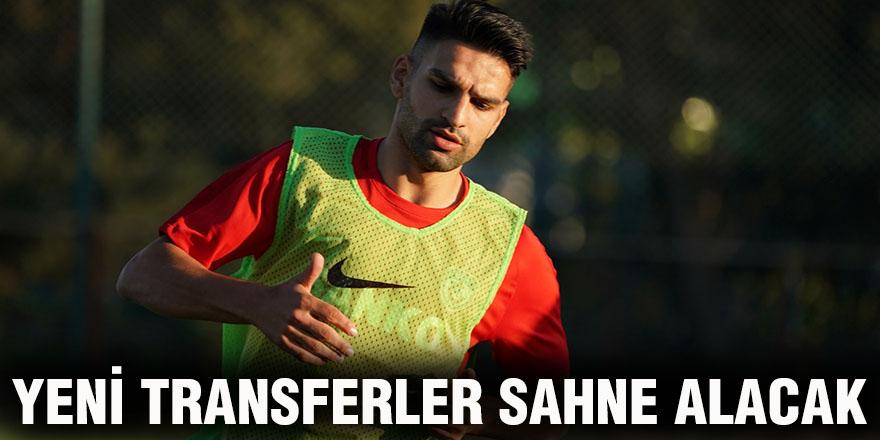 Yeni transferler sahne alacak