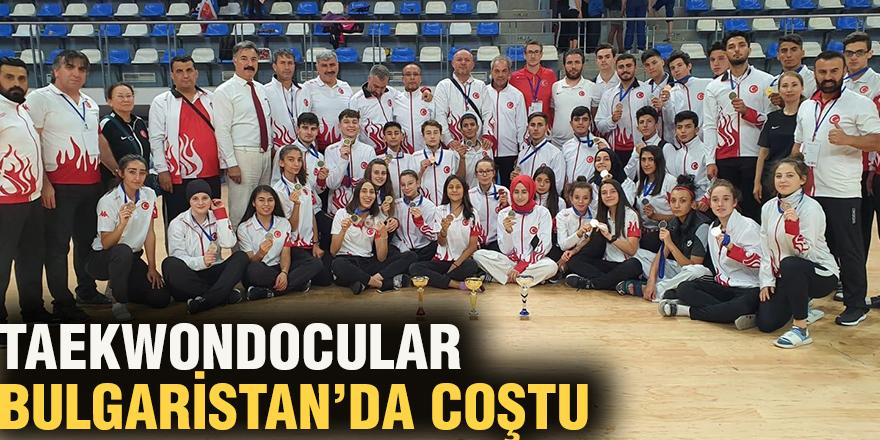 Taekwondocular Bulgaristan'da coştu