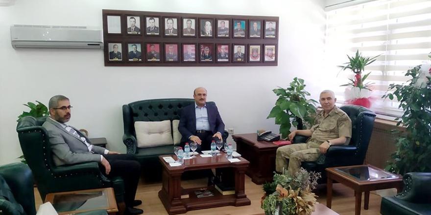 Başkandan Albay'a ziyaret