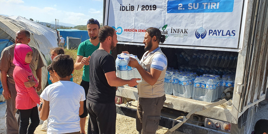 İdlib'e yardım eli