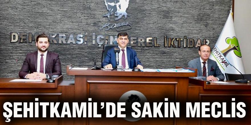 Şehitkamil'de sakin meclis