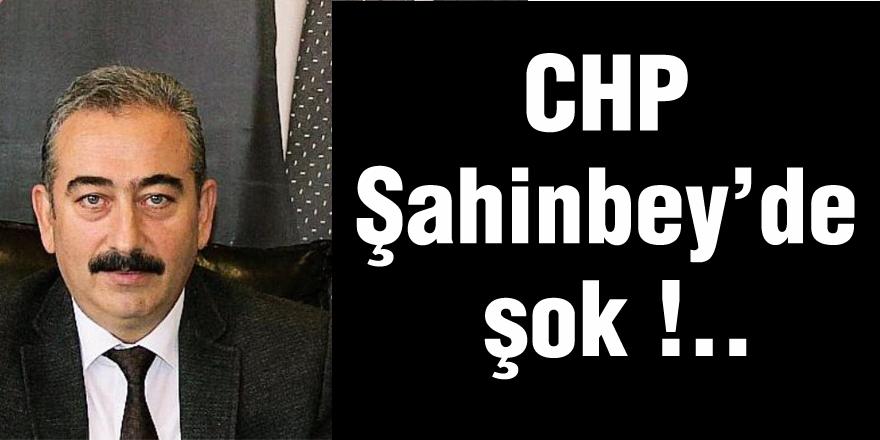 CHP Şahinbey'de şok