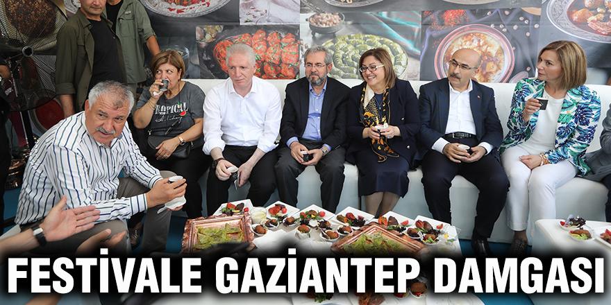 Festivale Gaziantep damgası