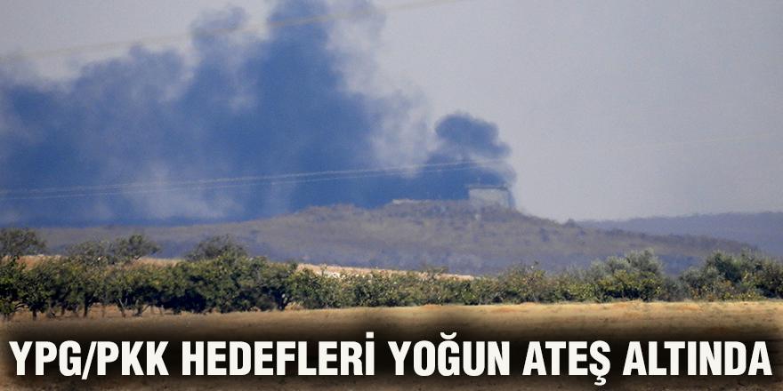 YPG/PKK hedefleri yoğun ateş altında