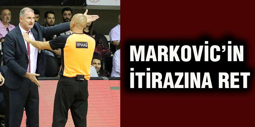 Markovic'in itirazına ret